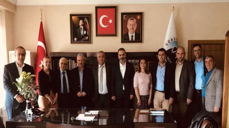 Turizmcilerden Başkanlara Tebrik Ziyaretleri