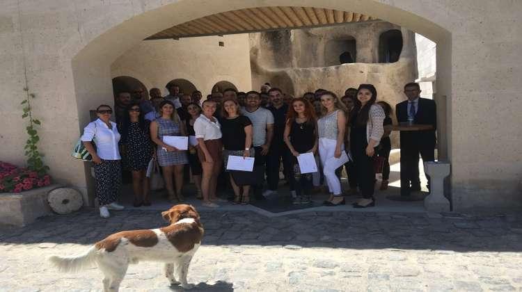 Kapadokya'da Turizm Eğitimi Zamanı!