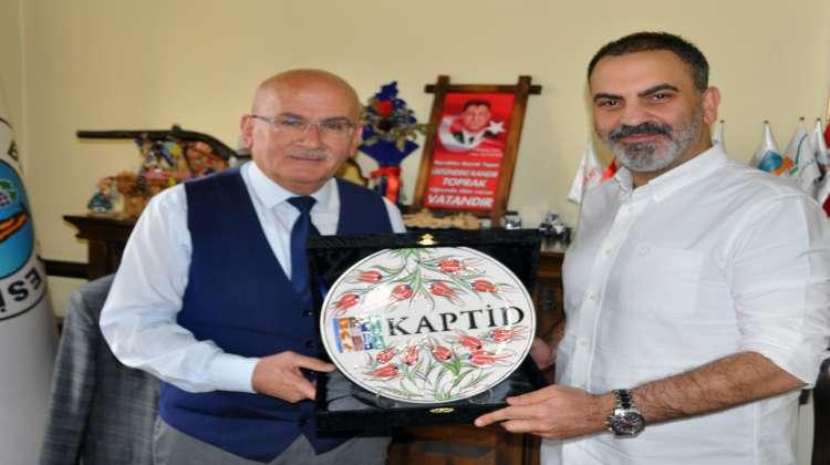 Ürgüp Belediye Başkanı Fahri Yıldız'a Teşekkür Ziyareti