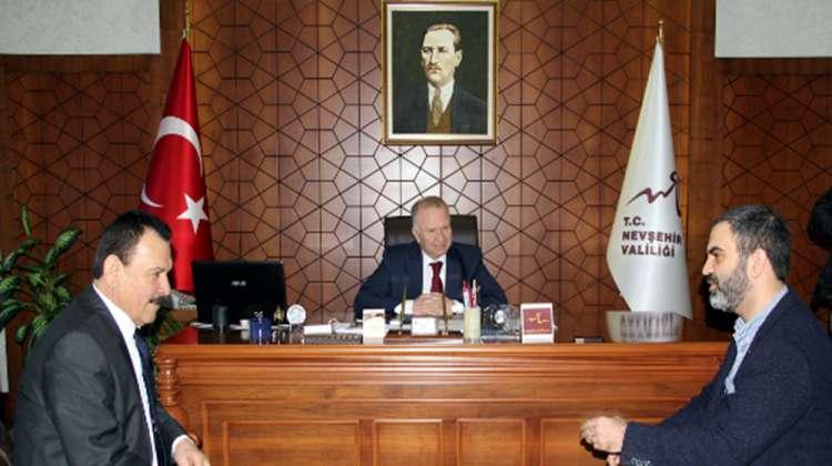 KAPTİD yöneticilerinden Vali Ceylan'a ziyaret