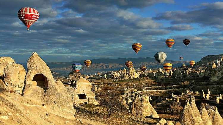 Kapadokya'nın dünyada rakibi yok