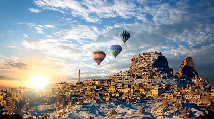 Kapadokya'da, KAPTİD bayramda yüzde 80 bekliyor