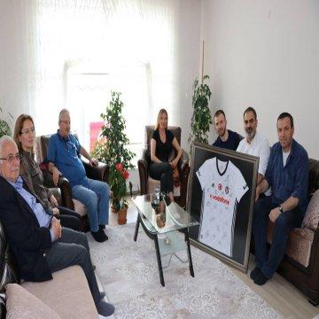 Afrin Gazimiz Zeki Didinmez'i Ziyaret Ettik