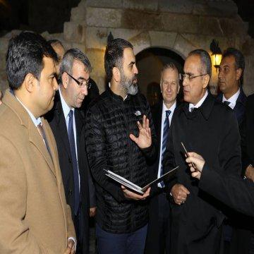 Yakup Dinler, Kapadokya'nın sorunlarını Bakan Topçu ile paylaştı