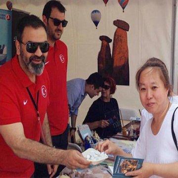 Pekin Uluslararası Turizm Fuarı'nda Türkiye Standına Yoğun İlgi