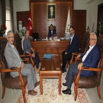 KAPTİD Yönetim Kurulu Vali Aktaş'ı ziyaret etti