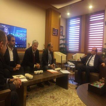 TÜROFED Yönetim Kurulu Üyeleri, Ekonomi Bakan Yardımcısını ziyaret etti
