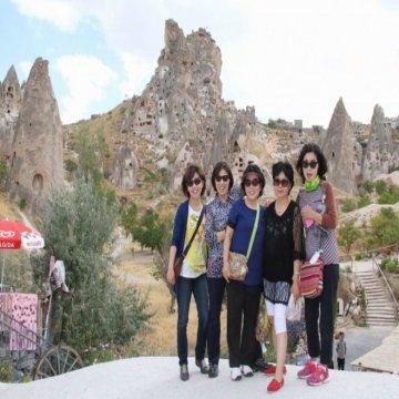 Çinliler Çin Bayramını Kapadokya'da Gökyüzünde Kutluyor